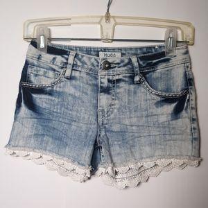 Mudd jean shorts girls 12